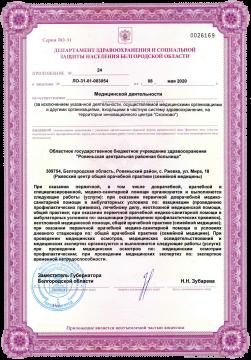 лицензия сэс
